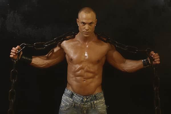 Stripteaseur à Paris métisse militaire (Taïri) pas cher