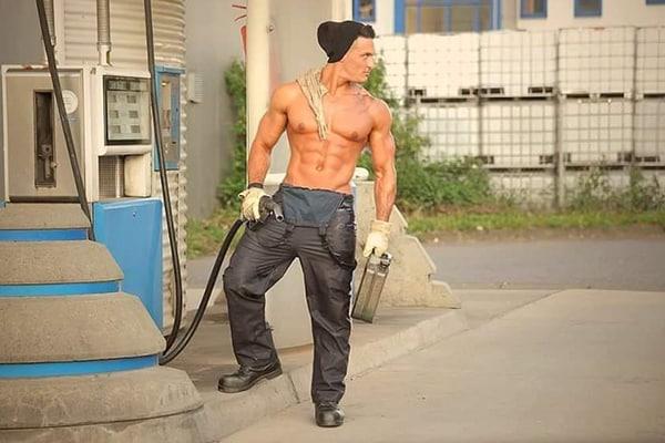 Stripteaseur domicile 50 nuances de Grey (Abraham) pas cher.